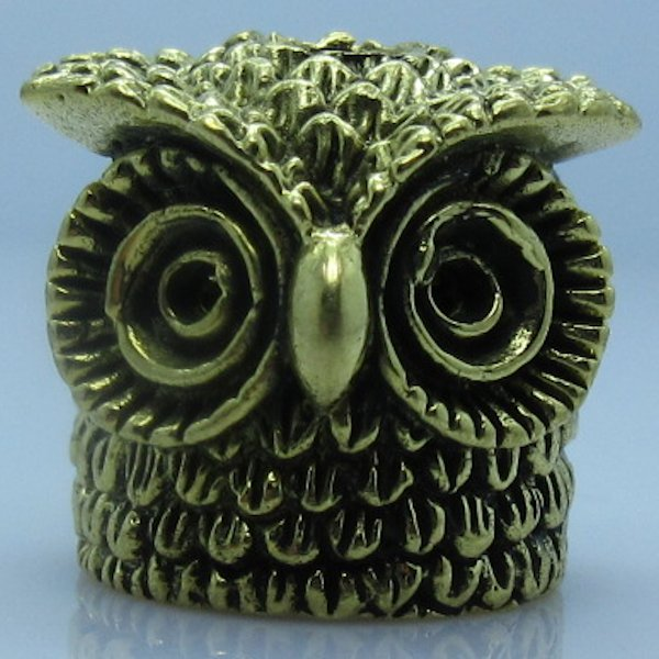 Owl V.3 in Brass by Santi-Se