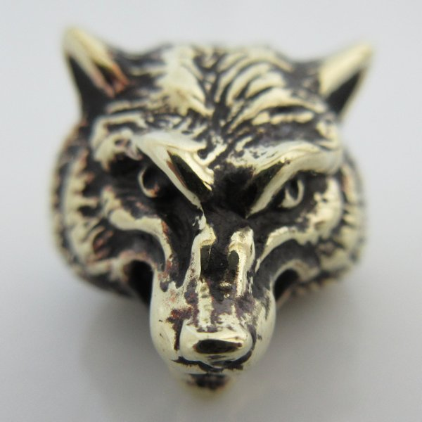 Wolf in German Silver By Sirin