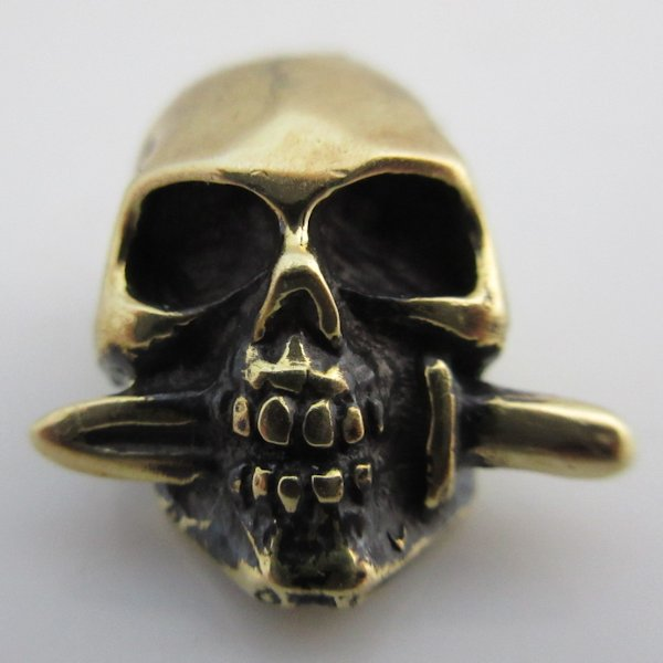 Totenkopf in Brass By Sirin