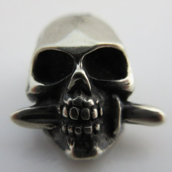 Totenkopf in German Silver By Sirin