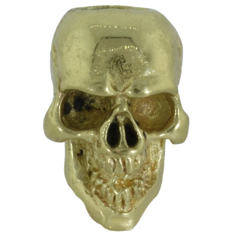 Perfect Skull in Brass by Covenant Everyday Gear