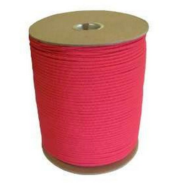 550 Pink Type III Paracord 1000' Spool SS16