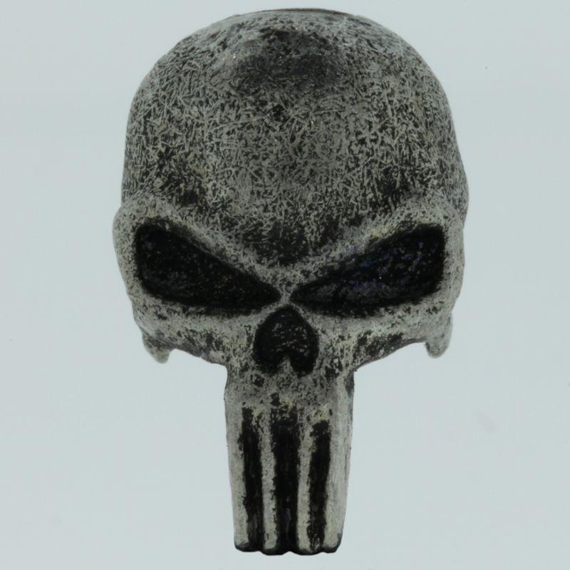 Punisher Bead in Pewter by Marco Magallona