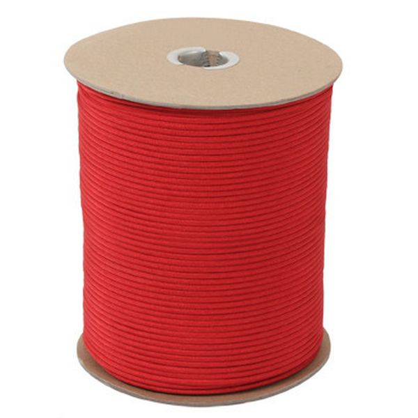 Red 550# Type III Paracord 1000' Spool SS03