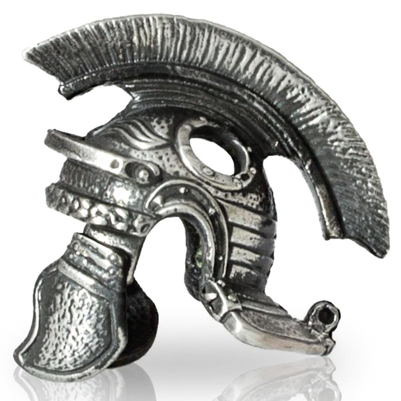 Roman Helmet in Nickel Silver By Alloy Army of Eurasia