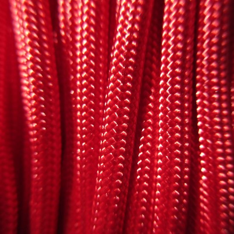 Red 550# Type III Paracord 100' S03