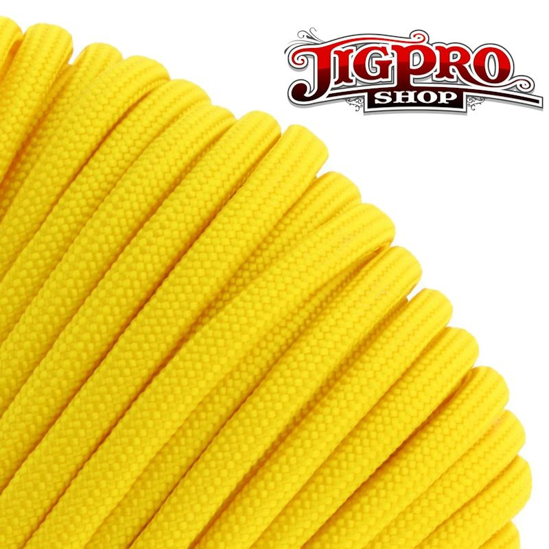 Yellow 550# Type III Paracord 100' S04