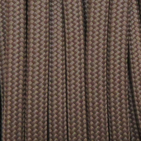 550 Brown Type III Paracord S07