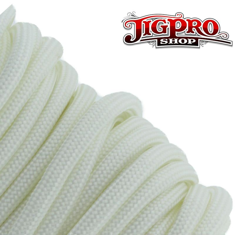 White 550# Type III Paracord 100' S08