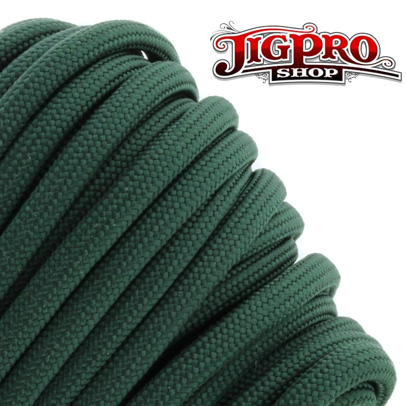 Hunter Green 550# Type III Paracord 100' S15