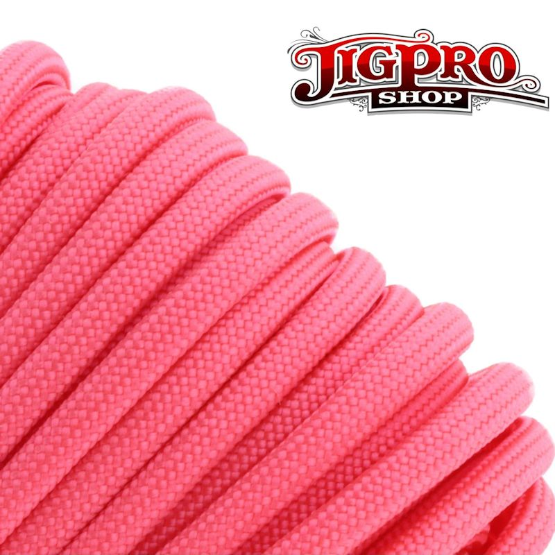 Pink 550# Type III Paracord 100' S16