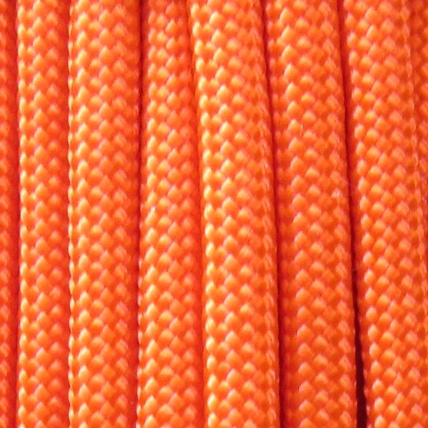 550 Neon Orange Type III Paracord S17