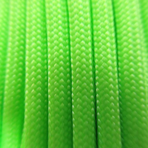 550 Neon Green Type III Paracord S18
