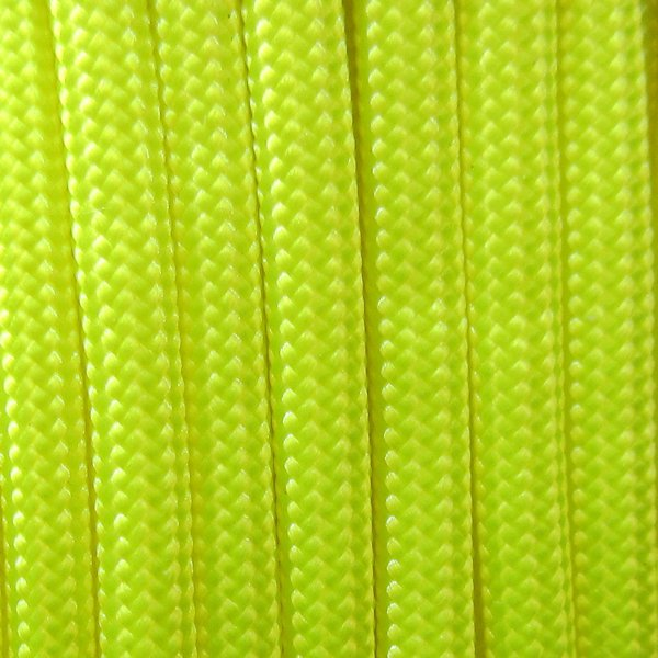 550 Neon Yellow Type III Paracord S19