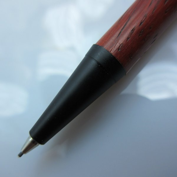 Slimline Pencil in (Padauk) Black Enamel