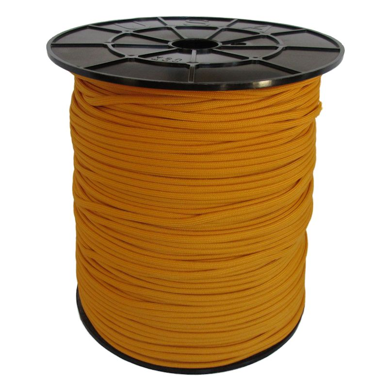 Air Force Gold 550# Type III Paracord 1000' Spool SS25