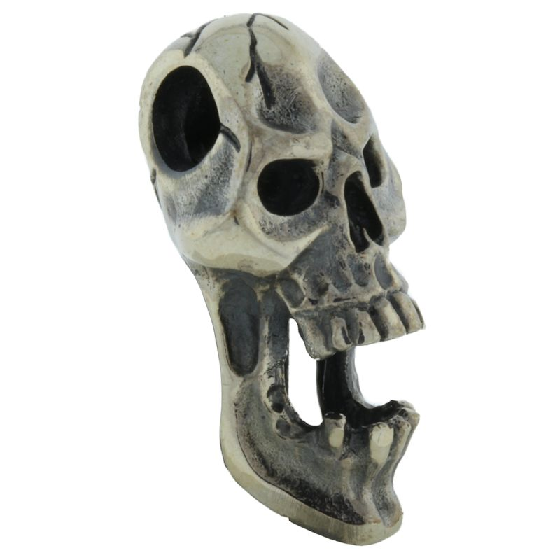 Screaming Skull (Large) in .925 Sterling Silver by GD Skulls