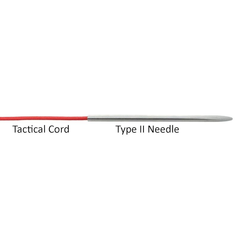 "3 1/2"" Type II Stainless Steel Stitching Needles"