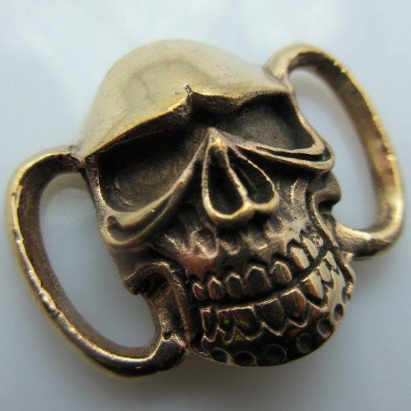 Skull Boot / Bracelet Bead in Copper by Santi-Se