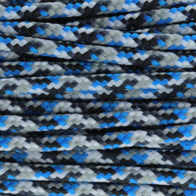 "Blue Camo 275# Tactical Cord 3/32"" x 100' TC06"