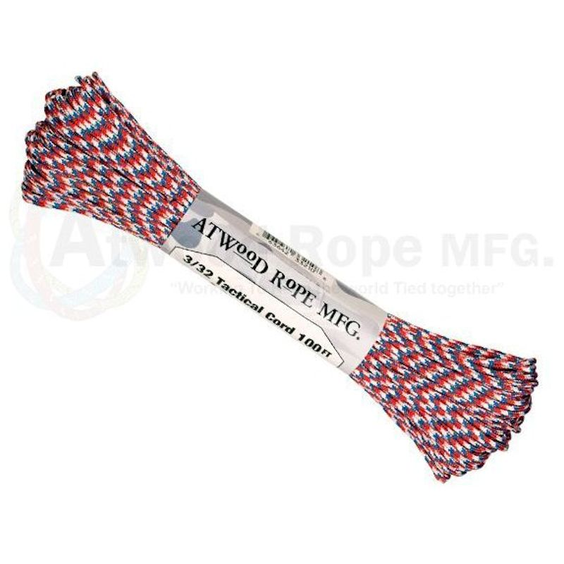 "Liberty 275# Tactical Cord 3/32"" x 100' TP01 - Click Image to Close"