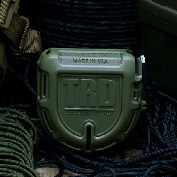 TRD - Tactical Rope Dispenser (Olive Drab)
