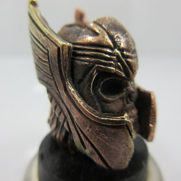 Thor Bead in Brass & Copper by Sosa Beadworx