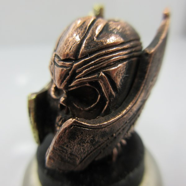 Thor Bead in Copper & Brass by Sosa Beadworx