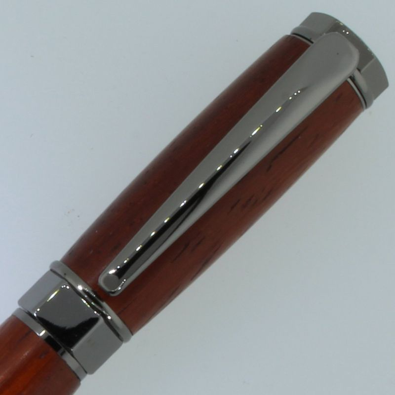 Vertex Rollerball Pen in (Padauk) Gun Metal