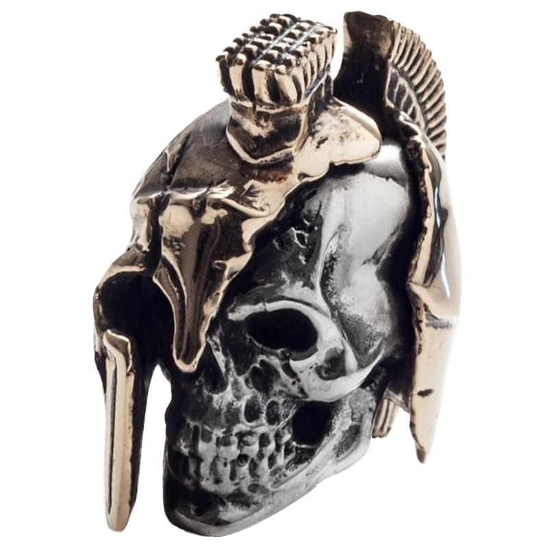 Spartan 2 in .925 Sterling Silver and Bronze by GD Skulls