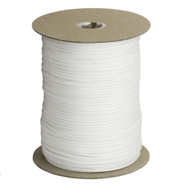 White 550# Type III Paracord 1000' Spool SS08