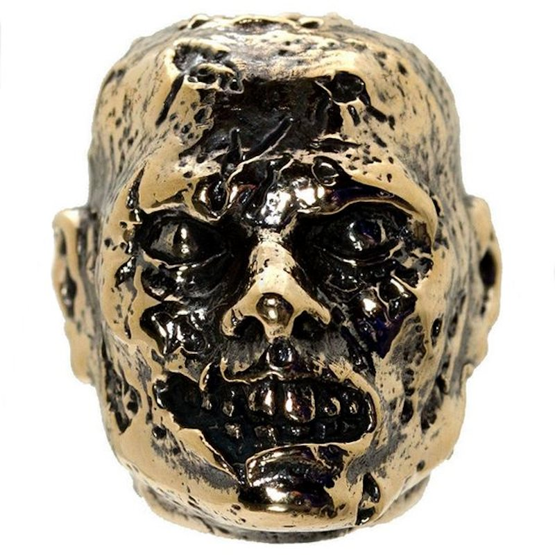 Zombie in Bronze by GD Skulls