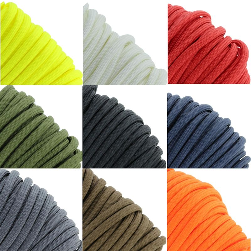 550 lb. Type III Paracord - Solids