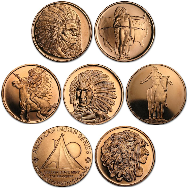 Golden State Mint ~ American Indian Series