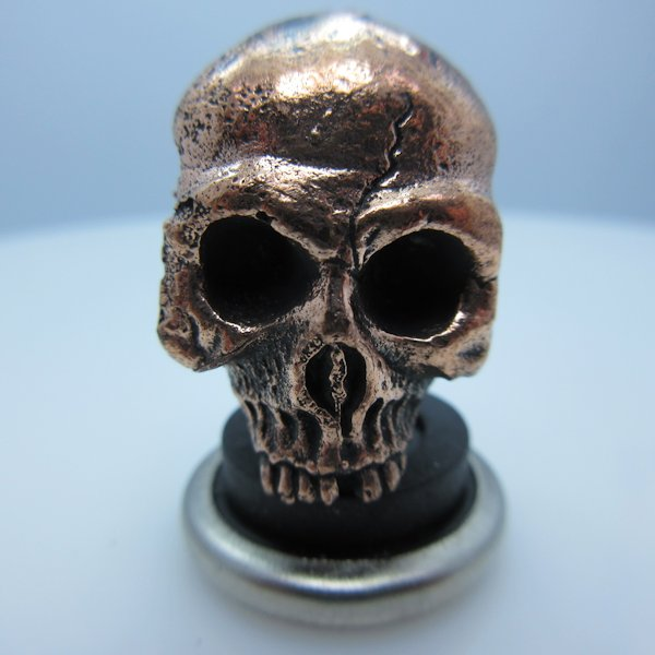 Ancient Skull in Copper by Lion ARMory