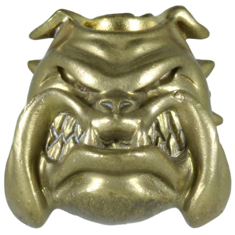 Alpha Bulldog In Brass By Techno Silver