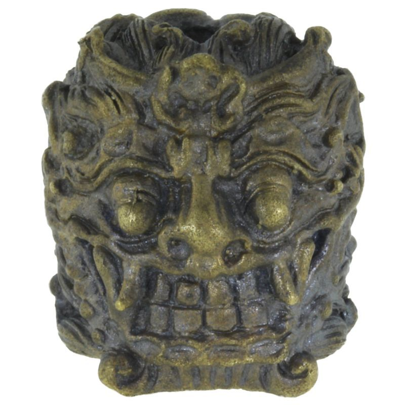 Barong (Balinese) in Brass With Black Patina by Covenant Everyday Gear