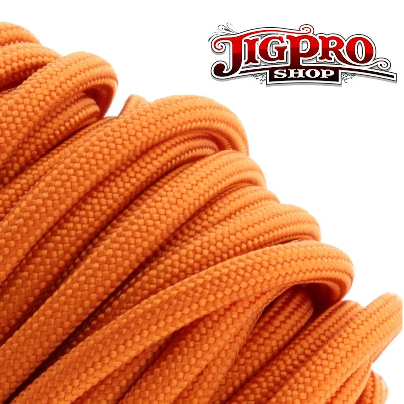 Burnt Orange 550# Type III Paracord 100' S22