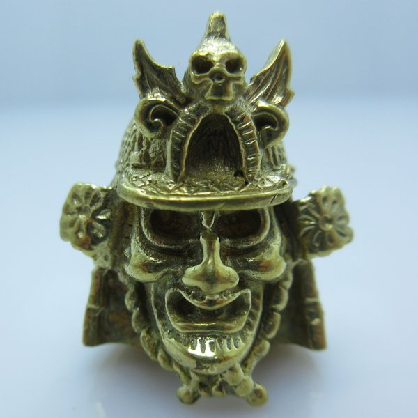 Samurai Warrior in Brass by Covenant Everyday Gear