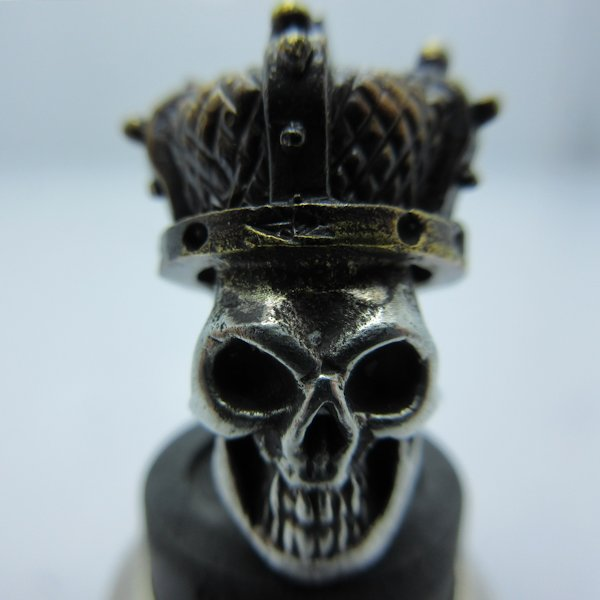 Queen of the Dead in Copper/White Brass (Black Patina Crown) by Covenant Everyday Gear