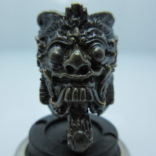 Rangda (Balinese) in Brass With Black Patina by Covenant Everyday Gear