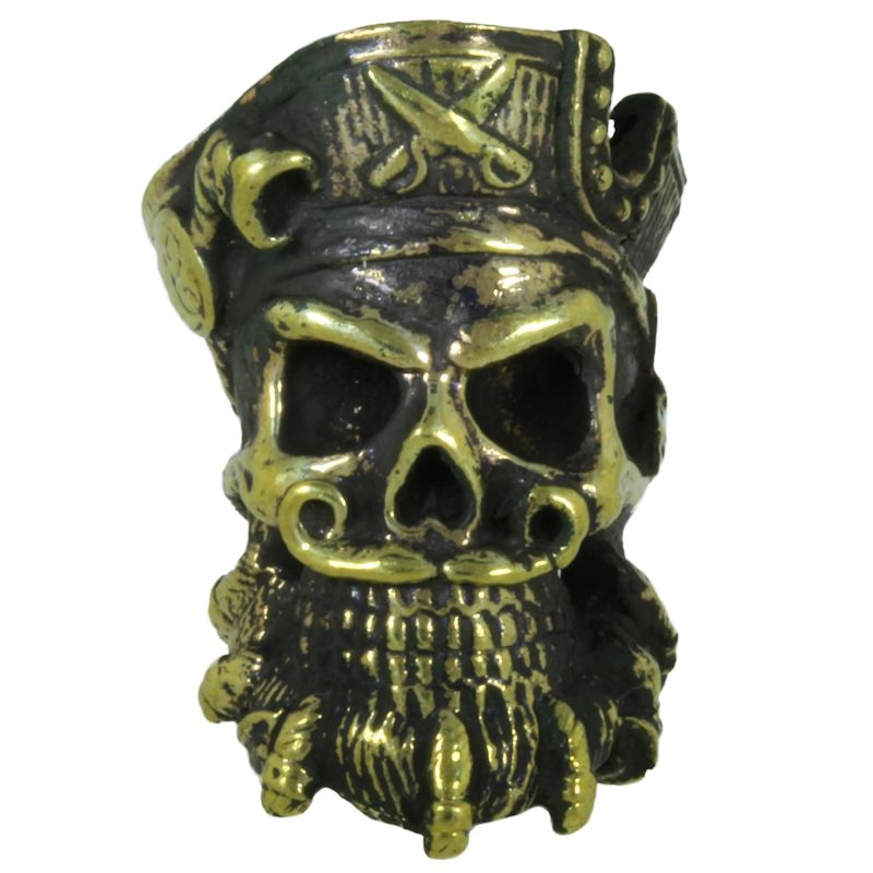 Blackbeard Pirate in Brass By Alloy Army of Eurasia