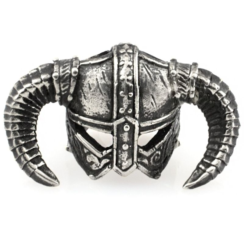 Dragonborn Bead in Nickel Silver by Russki Designs