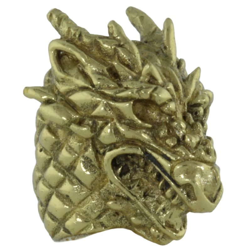 Dragonhead in Brass by Covenant Everyday Gear
