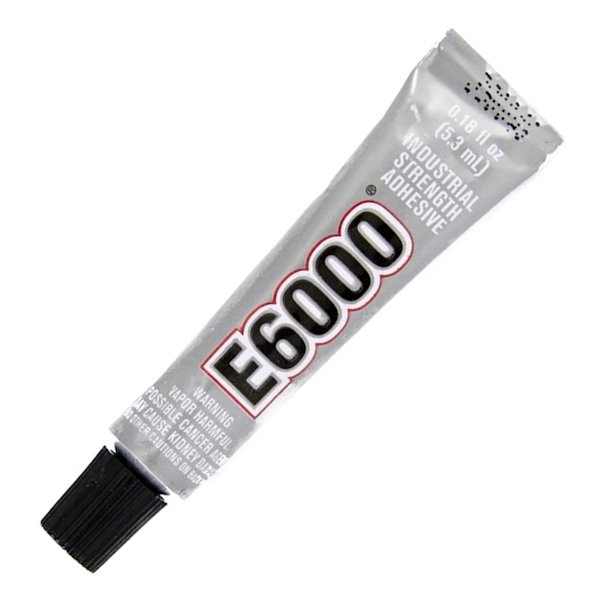 E6000 Industrial Strength Clear Cord Adhesive