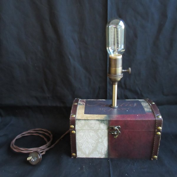 Edison Box Lamp #4