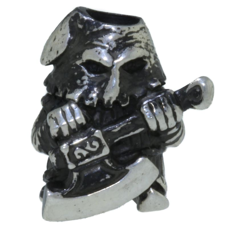 Executioner in Nickel Silver by King Lanyard