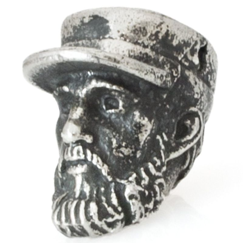 Fidel Castro in Nickel Silver By Comrade Kogut