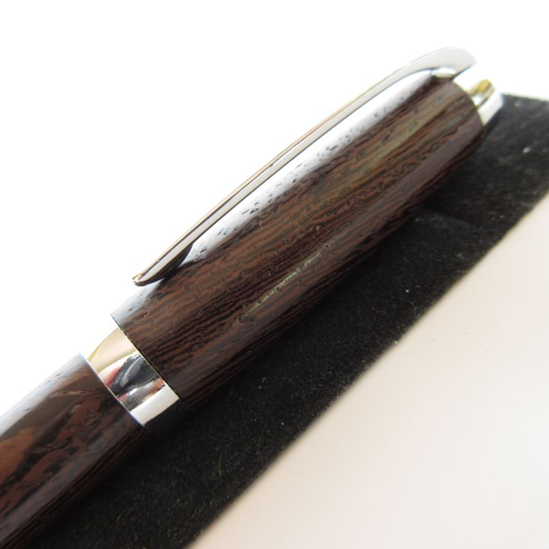 Graduate Twist Pen in (Wenge) Chrome