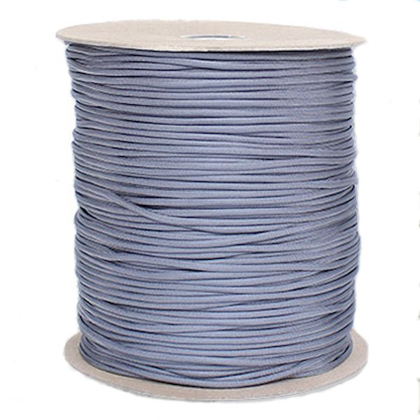 Graphite 550# Type III Paracord 1000' Spool SS23